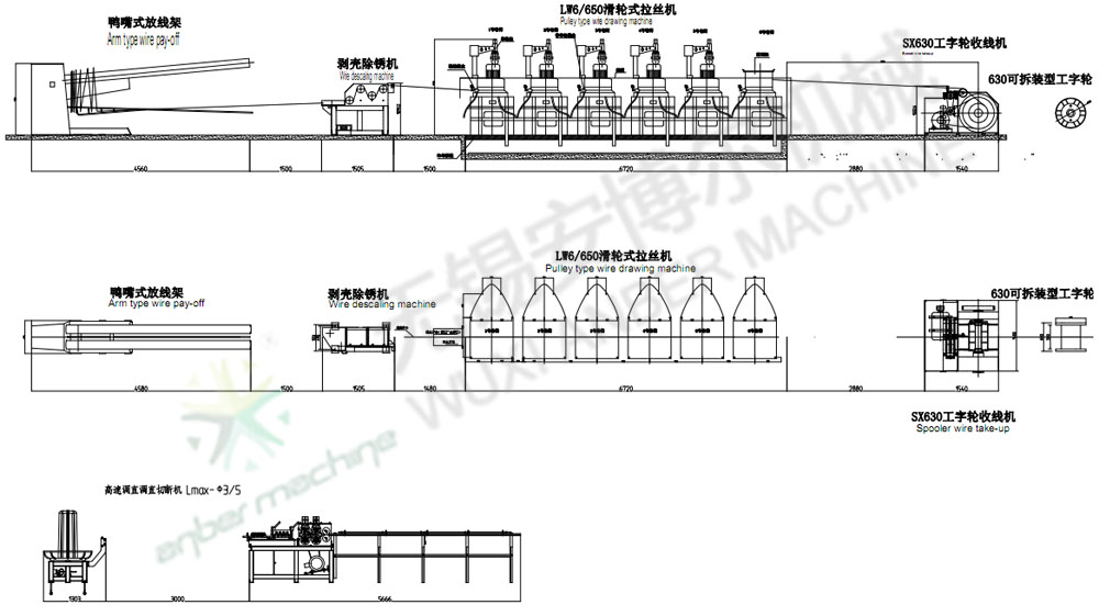 Pulley Type Continuous Wire Drawing Machine - wire drawing machine ...
